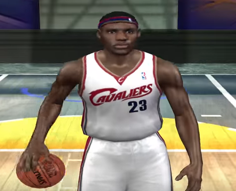 Every LeBron James NBA 2K rating since 2003