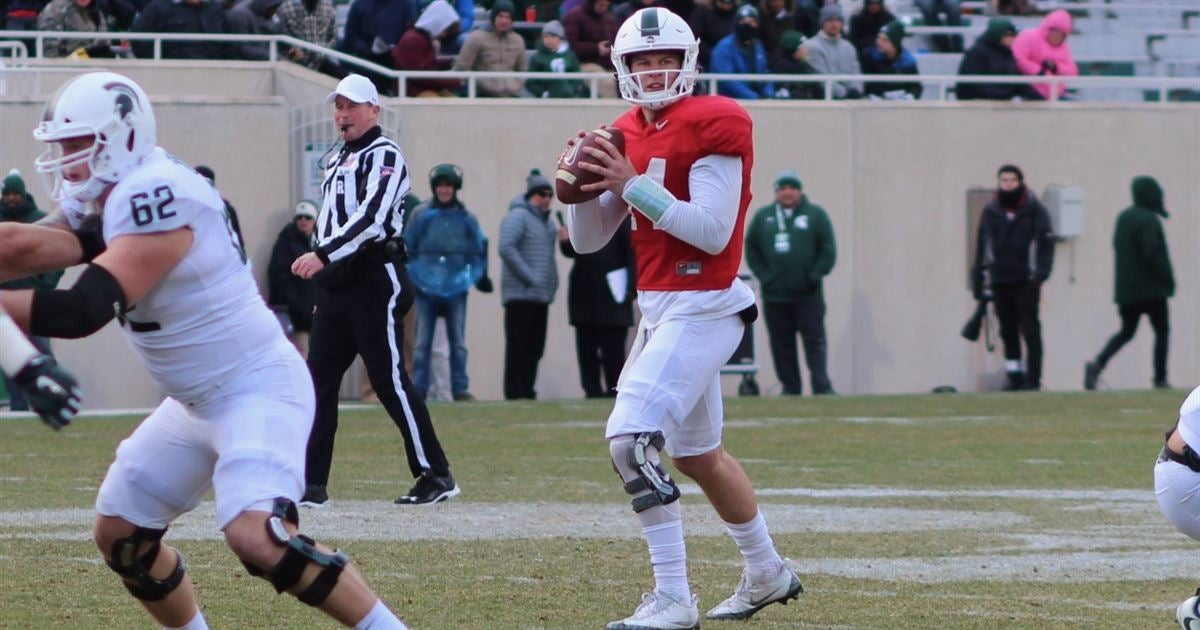 Red Cedar Message Board ~ Projecting michigan state s depth chart following spring game