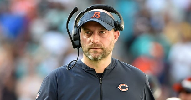 Matt Nagy comments on Bears' quarterback battle