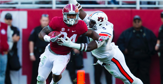 No. 1 Tide overcomes slow 1st half