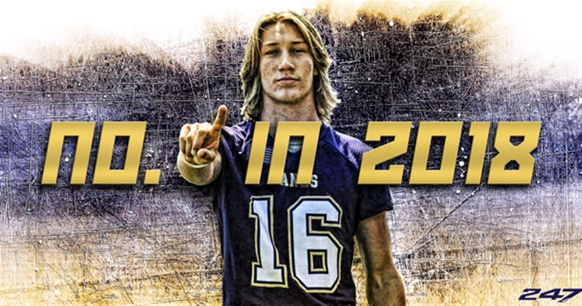 Cartersville QB Trevor Lawrence is No. 1 for the class of 2018
