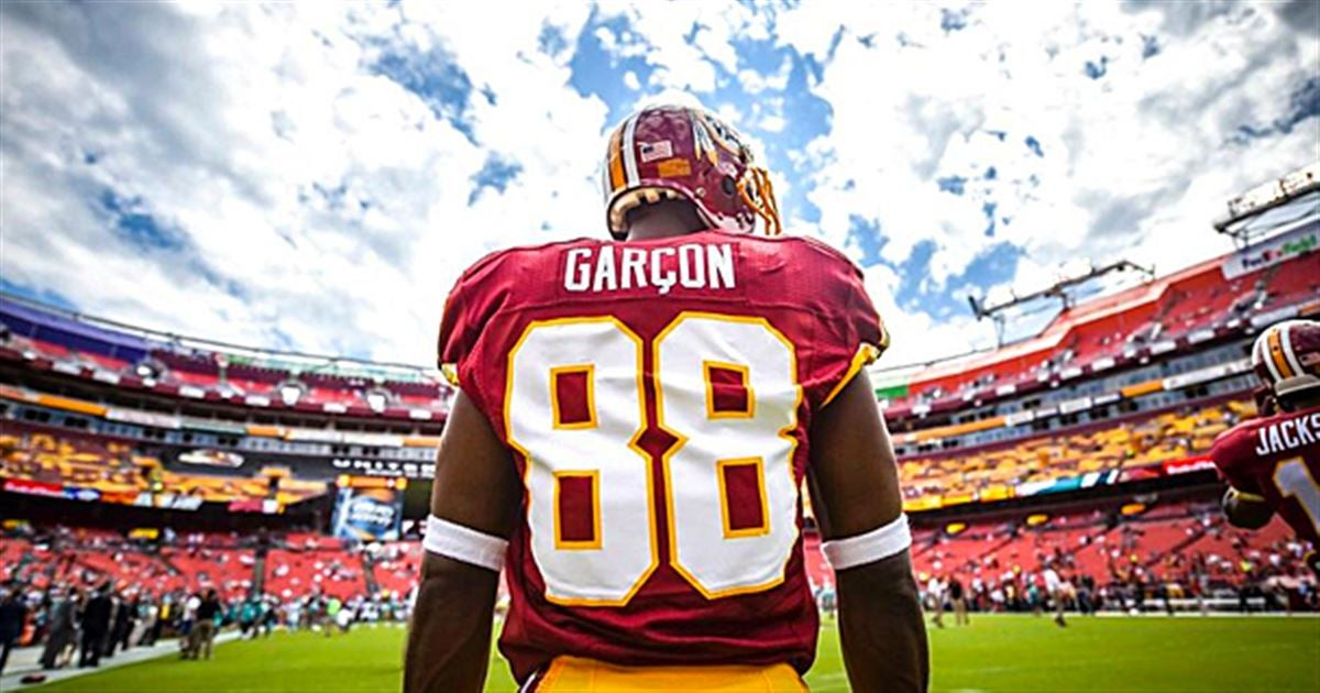 stitched nfl mens nike 88 pierre garcon limited road nfl jersey washington redskins redskins pierre garcon delivers powerful message to fans