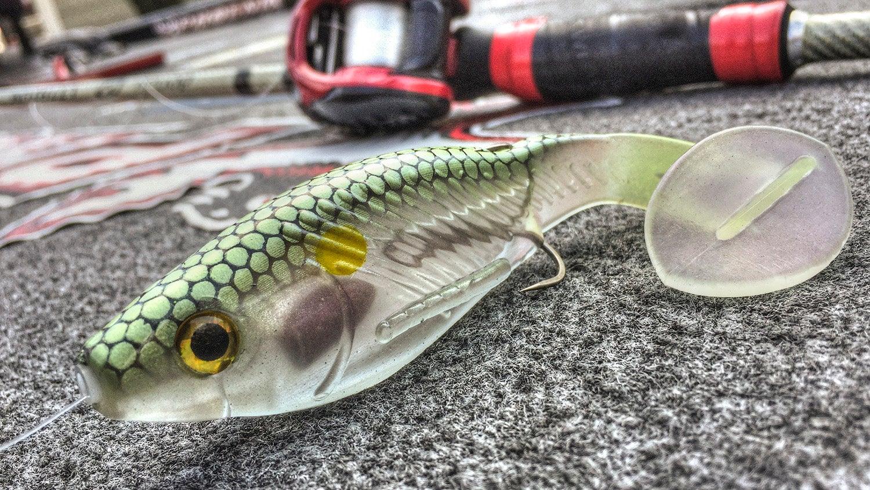 One trick for short striking swimbait bass for Bass fishing swimbaits