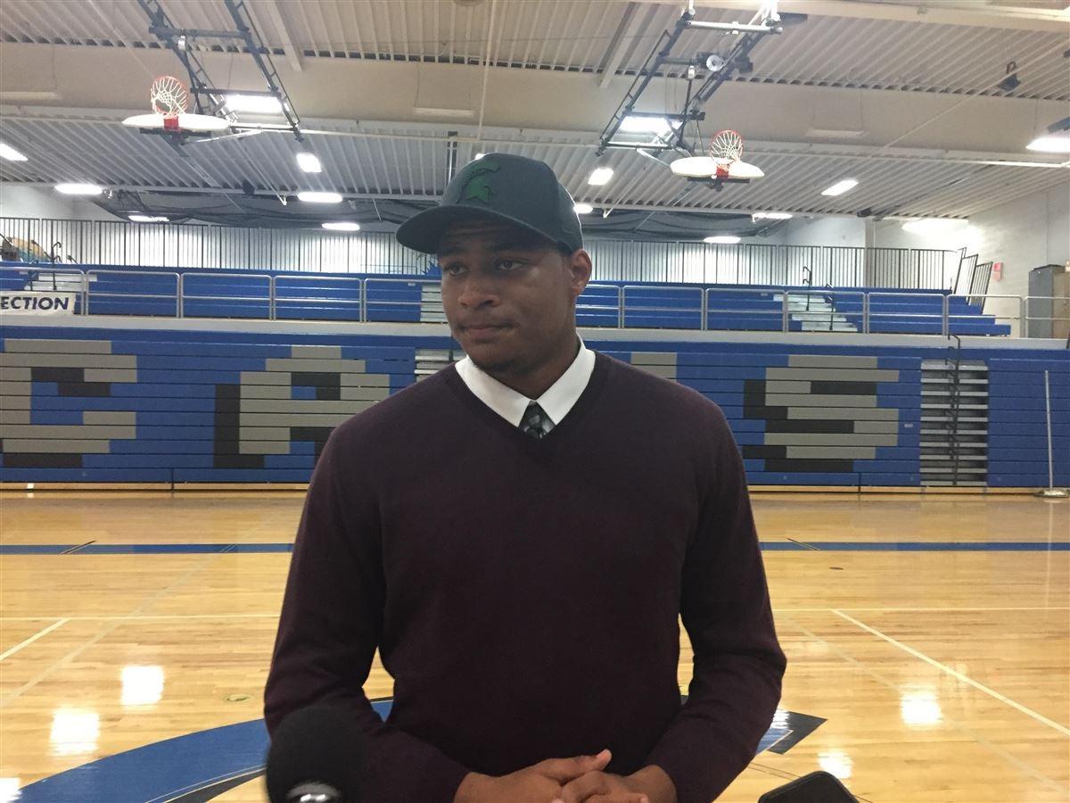 Watch: 2019 four-star DE Fletcher announce his commitment to MSU