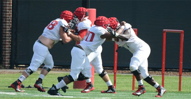 Rutgers Tuesday Training Camp Report: Talking Offensive Line