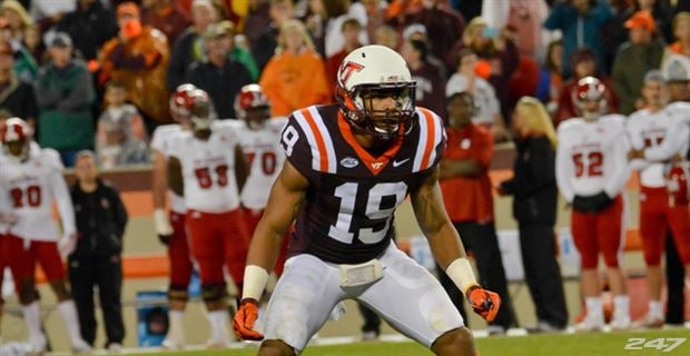 info for 02852 cf3c1 Defensive back Chuck Clark selected in the NFL Draft