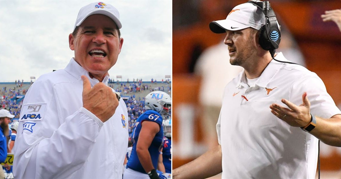Jayhawks claim Tom Herman disrespected Kansas leading up to game