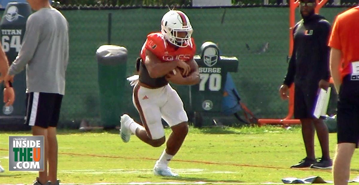 VIDEO: Running Backs and Fullbacks in Practice Drills
