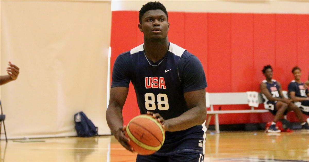 Zion Williamson >> Zion Williamson Blogs About Big Blue Madness Visit