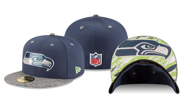 6935c09ba Get your Seattle Seahawks 2016 NFL Draft hat