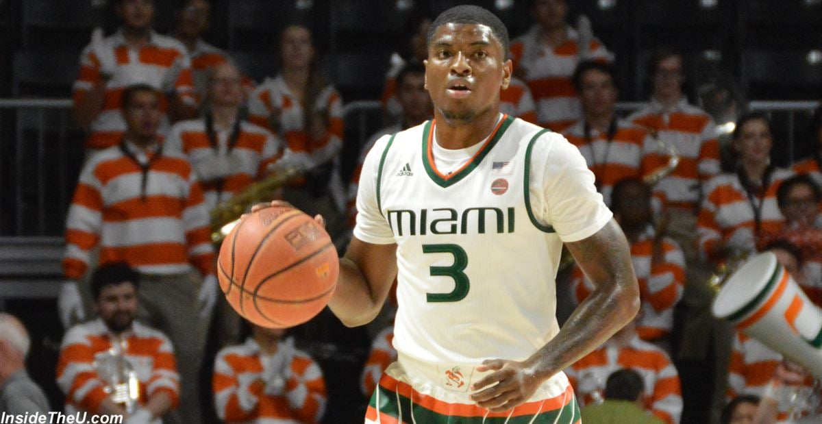 Anthony Lawrence II Miami Hurricanes Basketball Jersey - Green