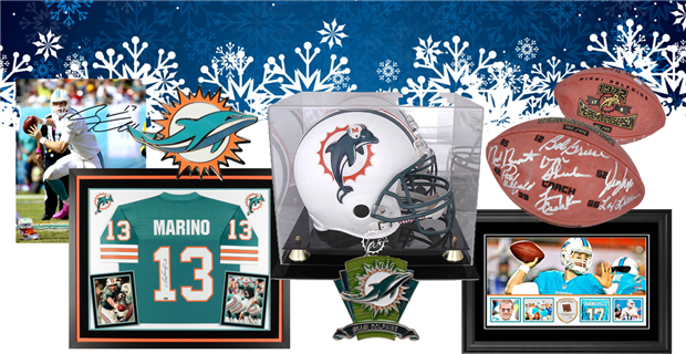 Miami Dolphins Holiday Gift Guide