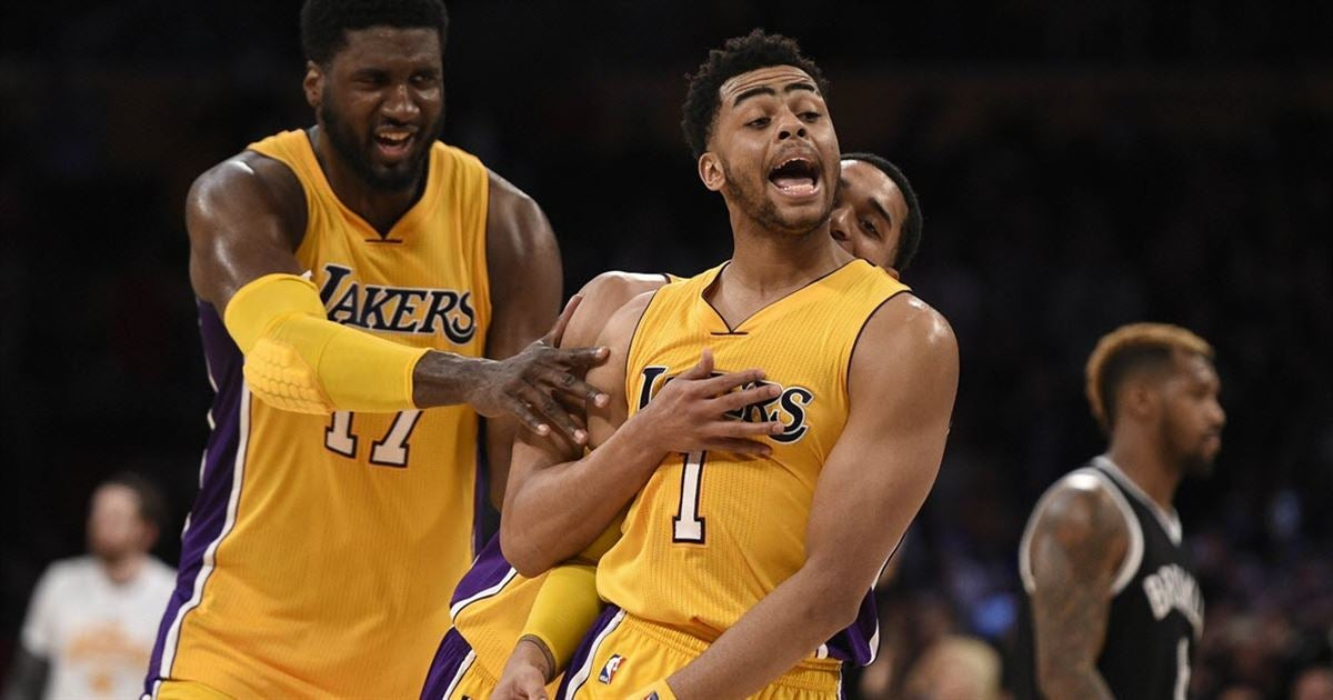 LA Latest Report: D'Angelo Russell Doesn't Want Lonzo Ball On The Los  Angeles Lakers? – NBA News Rumors Trades Stats Free Agency