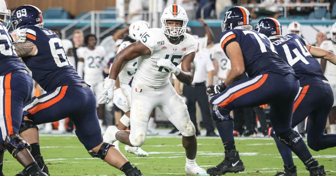 Manny Diaz says DE Gregory Rousseau earned his first start