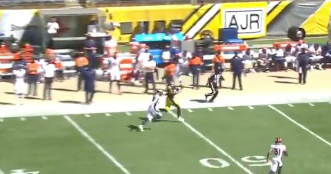 WATCH: Chase Claypool hauls in 84-yard touchdown