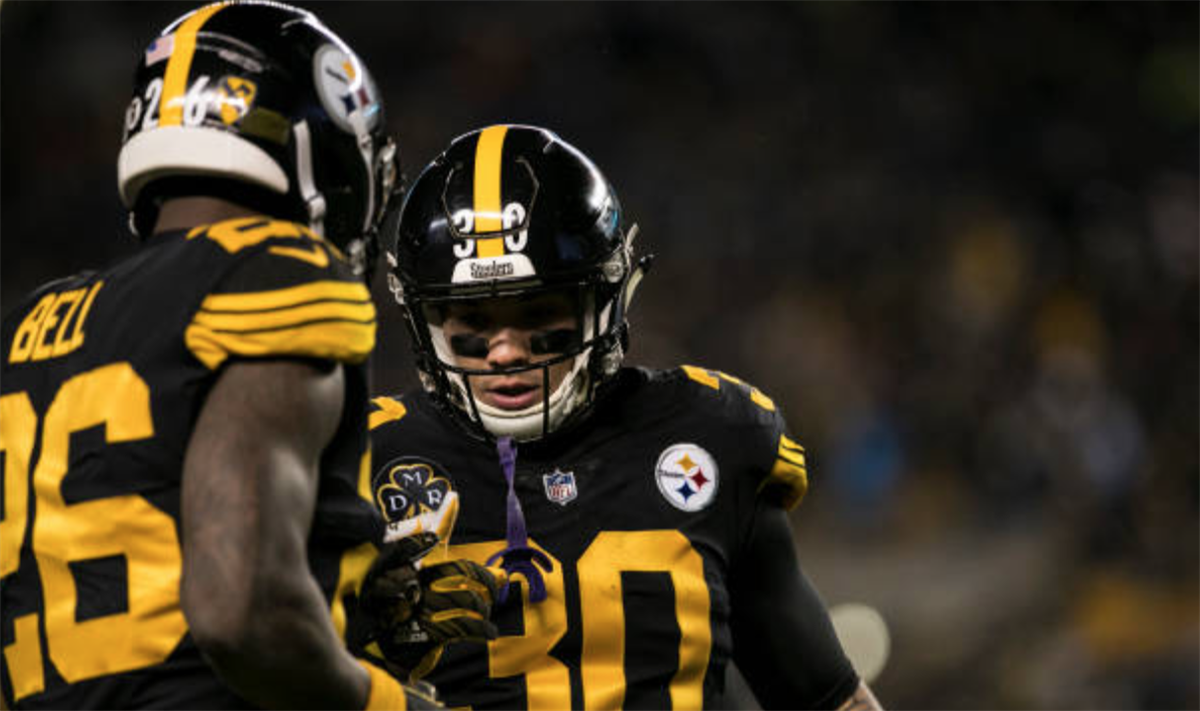 9c8432c17eb Le'Veon Bell shares private message from James Conner