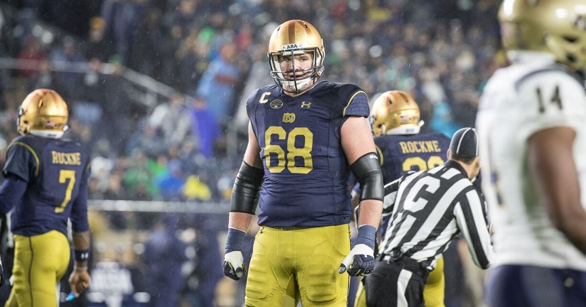 Notre Dame Offensive Lineman of the Year: Mike McGlinchey