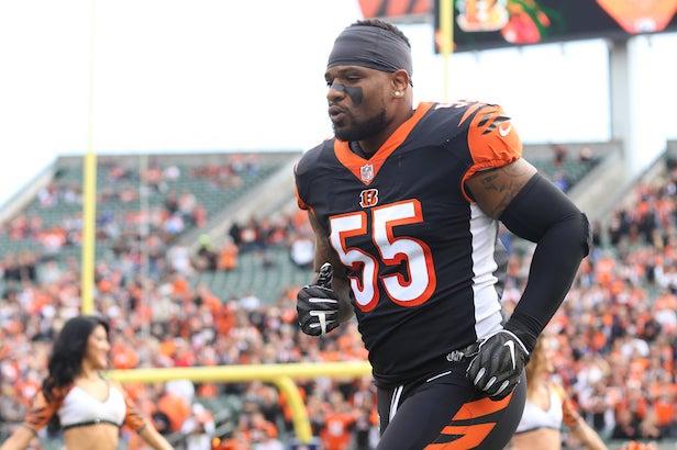 Bengals Release Linebacker Vontaze Burfict