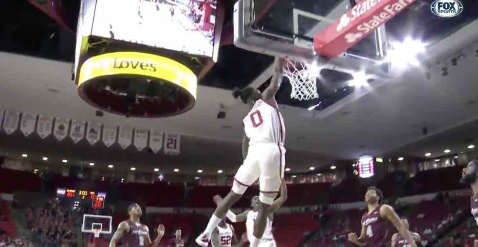 Sooners fly away from UMES Hawks in second half