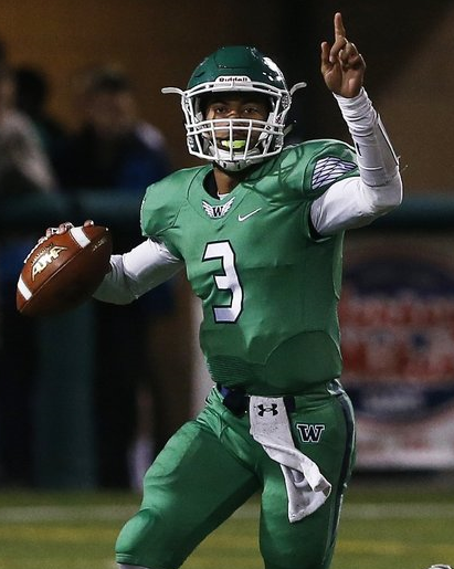 Jaden Sheffey Woodinville Dual Threat Quarterback