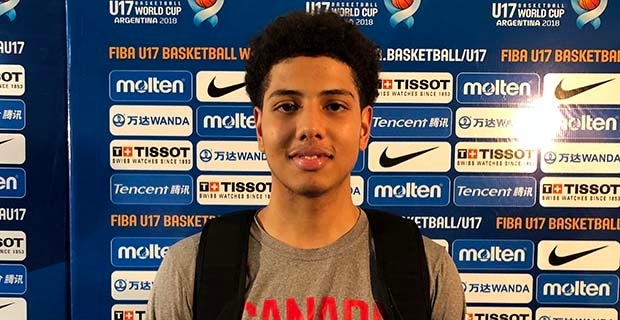 FIBA u17: Three schools are prioritizing Cashius McNeilly