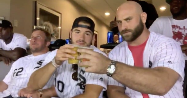 Reactions To Mitch Trubisky S Chugging Beer At White Sox Game