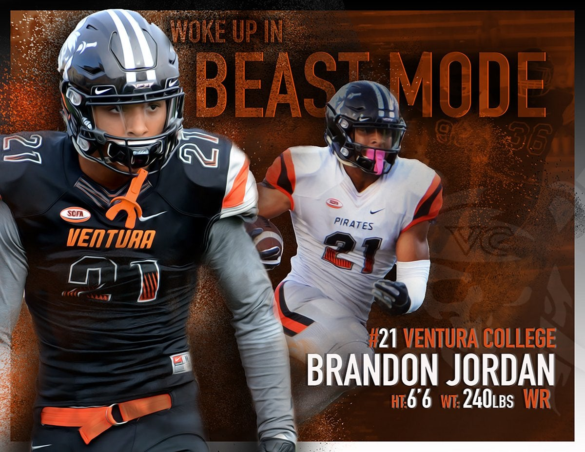 Brandon Jordan Ventura College Wide Receiver