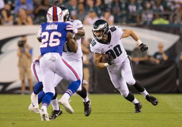 Eagles waive Adam Zaruba with an injury settlement