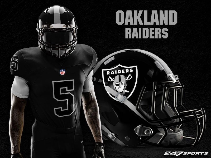 Blackout' Uniforms For Every NFL Team