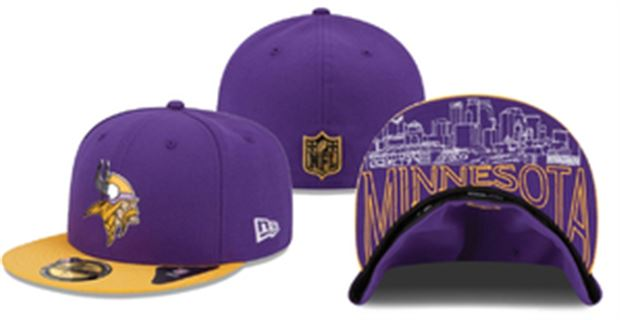 ... norway heres what the vikings 2015 nfl draft day hats look like da119  a2ba2 0487843c0d1