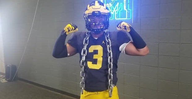"""Woods talks """"special"""" opportunity to play at Michigan"""