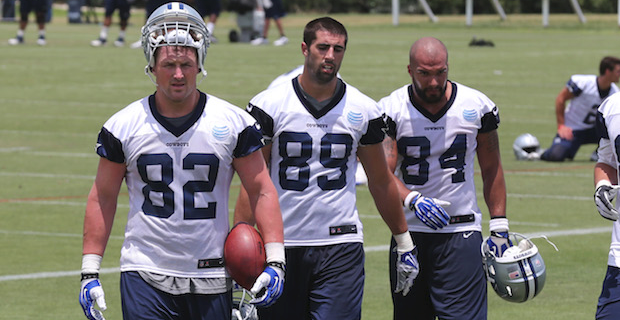 Dallas Cowboys practice notes  Wednesday e03cba2b1