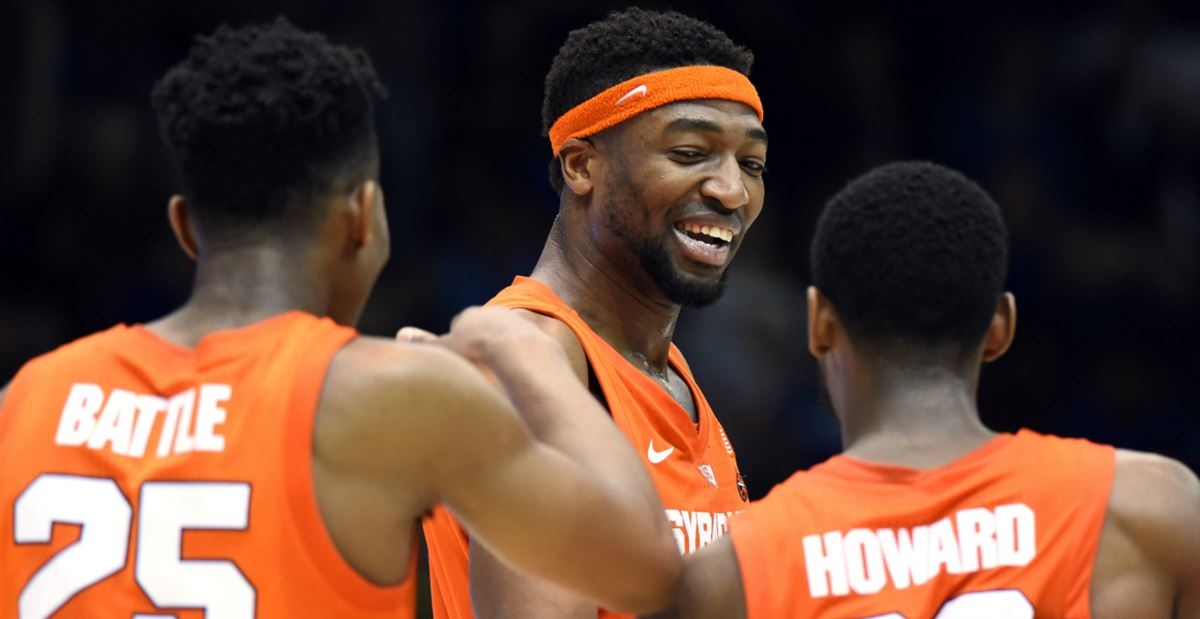 Watch Syracuse Locker Room Goes Crazy After Upsetting 1 Duke