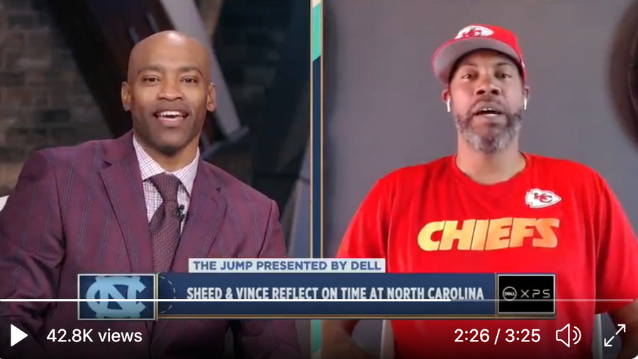 Vince Carter, Rasheed Wallace Tell UNC Basketball Stories