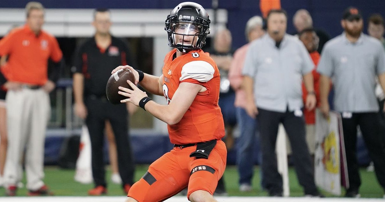 2022 quarterback Braedyn Locke commits to Mississippi State