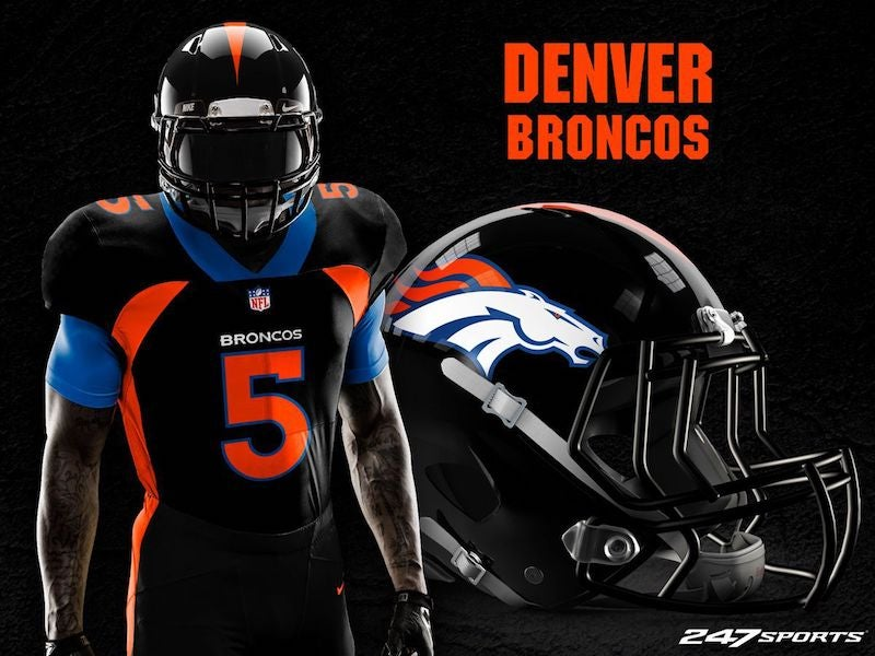 88fdd4b74 Blackout Uniforms For Every NFL Team