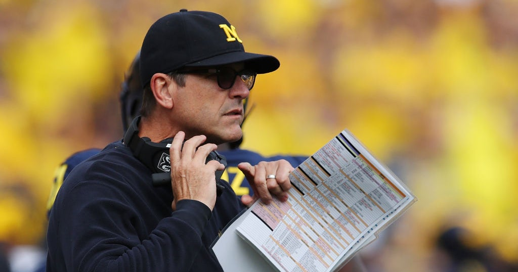 WATCH: Harbaugh hopeful for NFL, NCAA rule changes