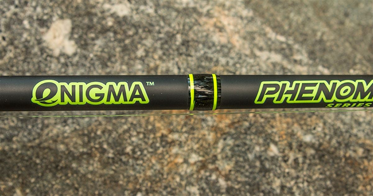 Enigma fishing phenom black rod review for Enigma fishing rods
