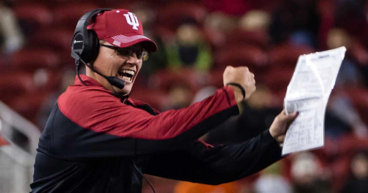 Indiana football staff hits the road recruiting