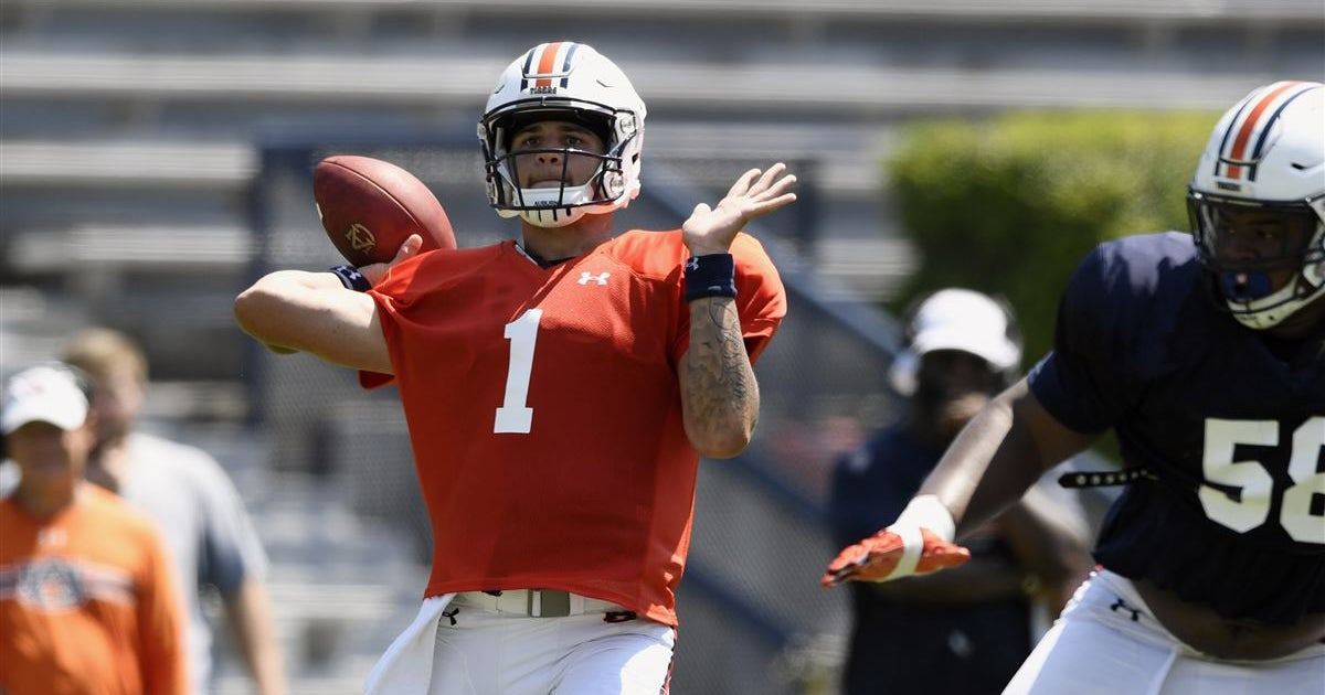 The data determining who is Auburn's starting quarterback