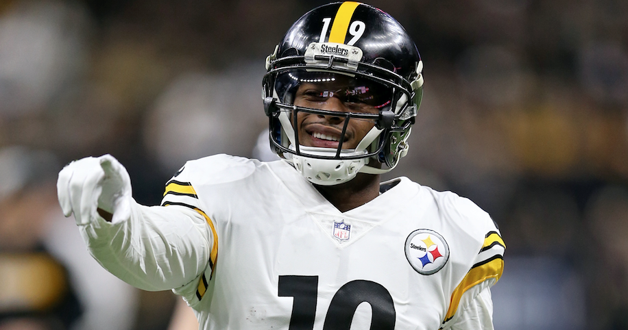 wholesale dealer a4497 2ca5c JuJu Smith-Schuster reaches out to fan in need
