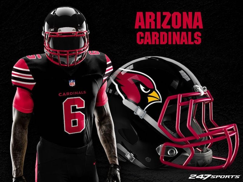 new styles 5f28a e5124 Blackout Uniforms For Every NFL Team