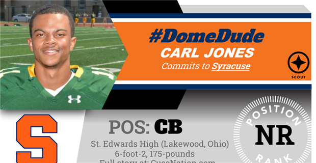 Carl Jones Commits to Syracuse