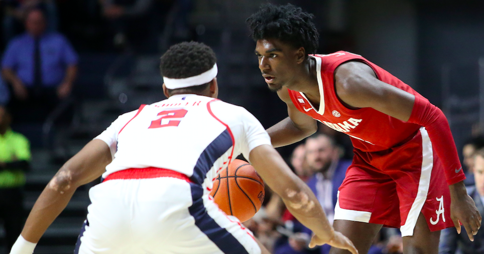 Alabama basketball blasts Ole Miss to claim much-needed road win