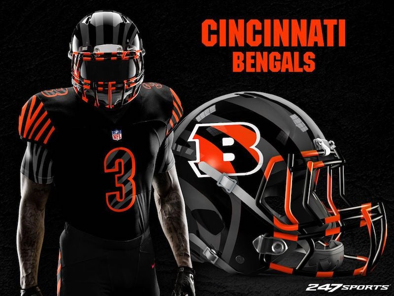 new styles 5da31 65d76 Blackout Uniforms For Every NFL Team