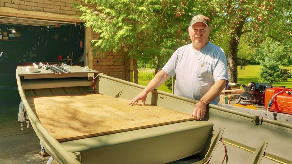 How to Build a Custom Jon Boat Casting Deck