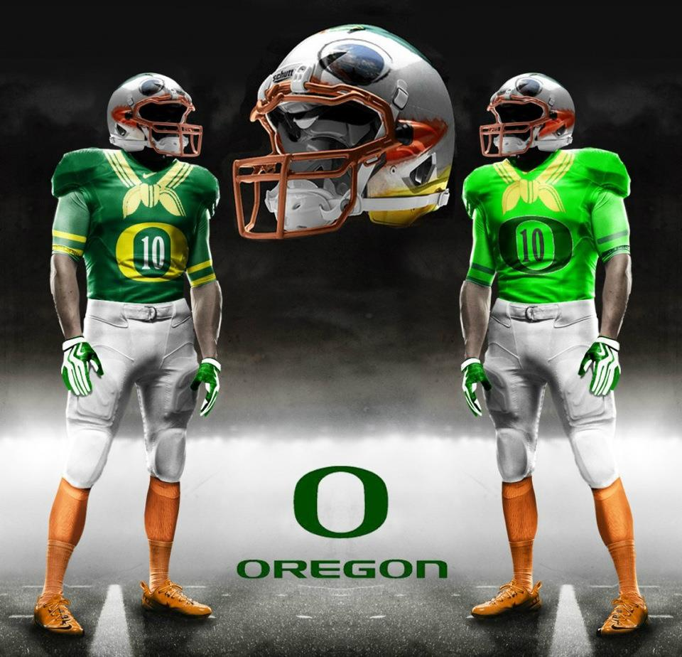 Oregon Ducks New Uniforms