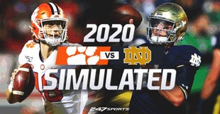 Simulating 20 best games of 2020 (Clemson at Notre Dame)