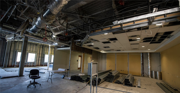 Photos: LSU Football Operations building updates
