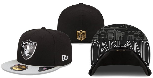 Check out the Raiders 2015 NFL Draft day hats 74b21def867